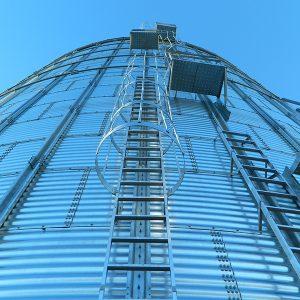 Grain Bin Ladders